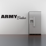 Army Brother Block Decal