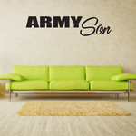 Army Son Block Decal