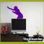 Zombie Lunge Decal