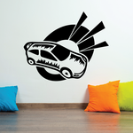 Rally Car Alert Decal
