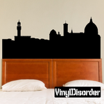 Florence Italy Skyline Decal