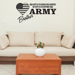Her Duty Army Brother Decal