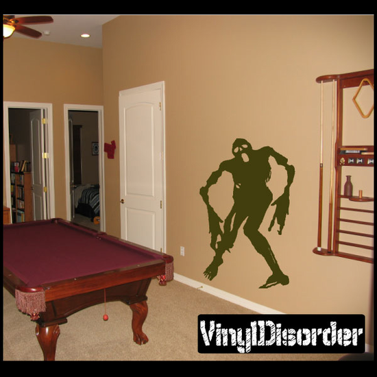 Ghastly Zombie Decal
