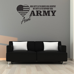 Her Duty Army Aunt Decal