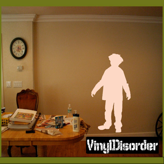Young Zombie Decal