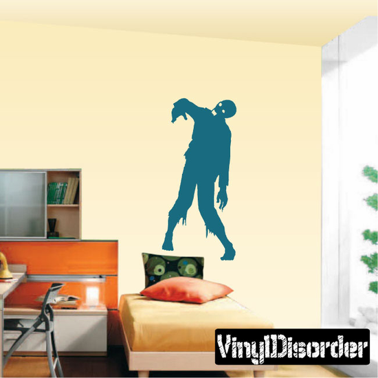Lurching Zombie Decal