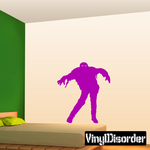 Lunging Zombie Decal