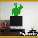 Zombie Clutch Decal