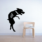 Zombie Dog Attack Decal