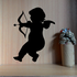 Chubby Cupid Valentines Day Bow and Arrow Decal