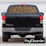 Animal Print Cheetah Rear Window View Through Graphic Og001