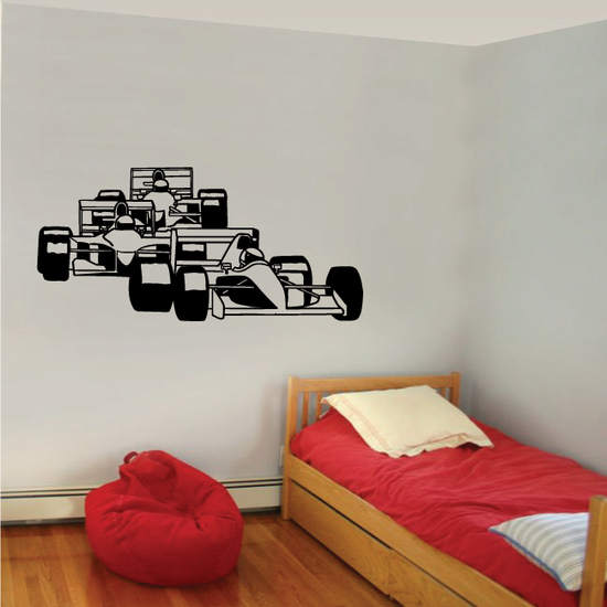 Indy Car Duel Decal