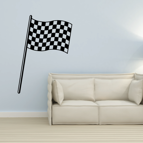 Checkered Flag Decal