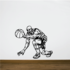 Basketball Wall Decal - Vinyl Decal - Car Decal - CDS074
