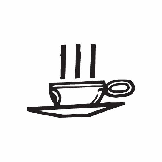 Hot Cup of Tea Decal