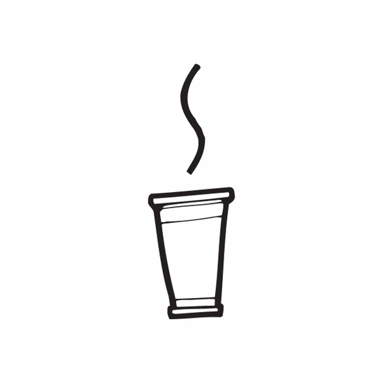 Hot Drink Decal