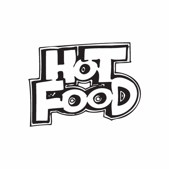 Hot Food Decal