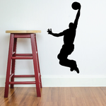 Lay Up Basketball Wall Decal - Vinyl Decal - Car Decal - 008