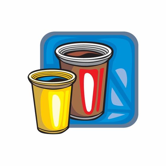 Party Cups Sticker