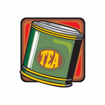 Can of Tea Leaves Sticker