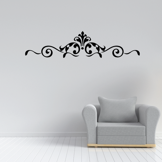 Headboard Home décor Embellishments Design Elements Vinyl Wall Decal Mural Quotes Words EM001