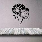 Grand Ram Head Decal