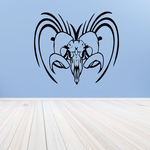 Wicked Lines Ram Skull Decal