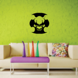 Skull Beast Wall Decal - Vinyl Decal - Car Decal - CF256
