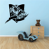 Basketball Action Comic Banner Decal