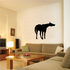 Stretched Neck Neighing Horse Decal