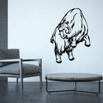 Jumping Mountain Goat Decal