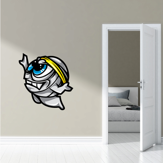 Volleyball Wall Decal - Vinyl Car Sticker - Uscolor002