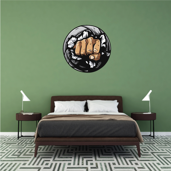 Volleyball Wall Decal - Vinyl Car Sticker - Uscolor004