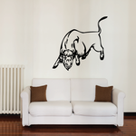 Direct Charging Bull Decal