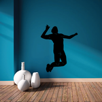 Volleyball Wall Decal - Vinyl Decal - Car Decal - 002