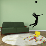 Vollyball Wall Decal - Vinyl Decal - Car Decal - MC003