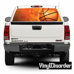 Sports Basketball Rear Window View Through Graphic Og001