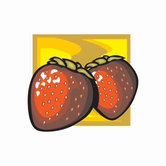 Strawberries Sticker
