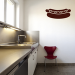 Hot Dog with Ketchup Decal