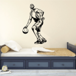 Basketball Wall Decal - Vinyl Decal - Car Decal - CDS088