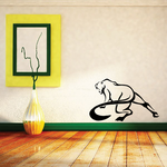 Whip Tail Panther Decal