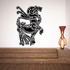 Abstract Mythological Capricorn Decal