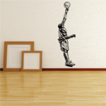 Basketball Wall Decal - Vinyl Decal - Car Decal - CDS004