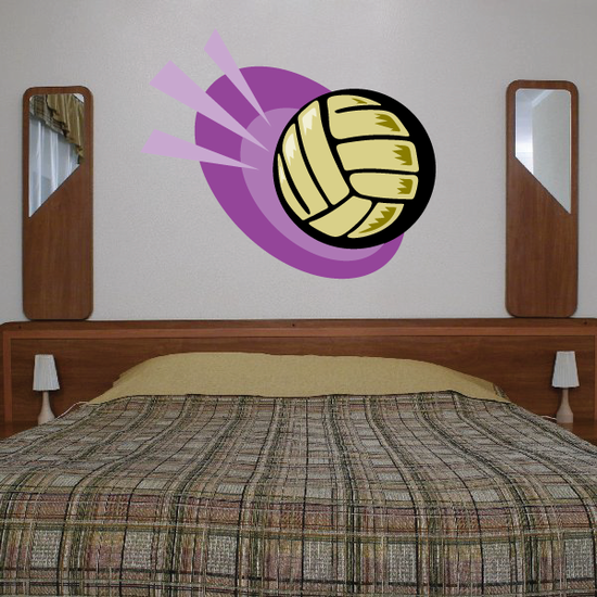Volleyball Wall Decal - Vinyl Sticker - Car Sticker - Die Cut Sticker - CDSCOLOR008