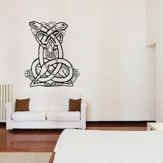 Aztec Abstract Snake Decal