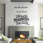 The Best Memories are made on the Ranch Wall Decal