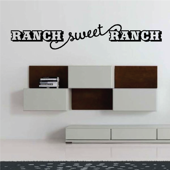 Ranch Sweet Ranch Wall Decal