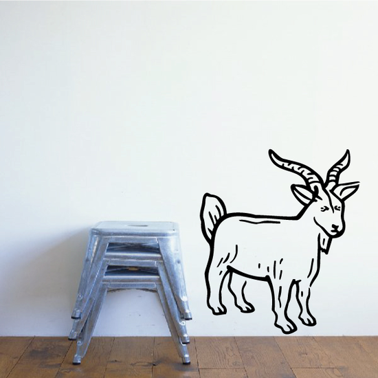 Billy Goat Decal