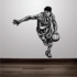 Basketball Wall Decal - Vinyl Decal - Car Decal - CDS006