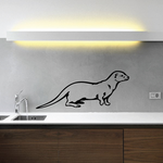 Otter Watching Decal